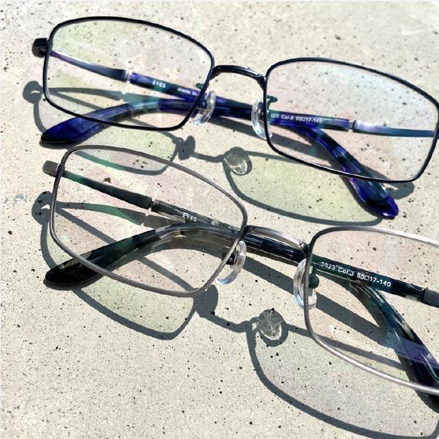 単焦点眼鏡例2